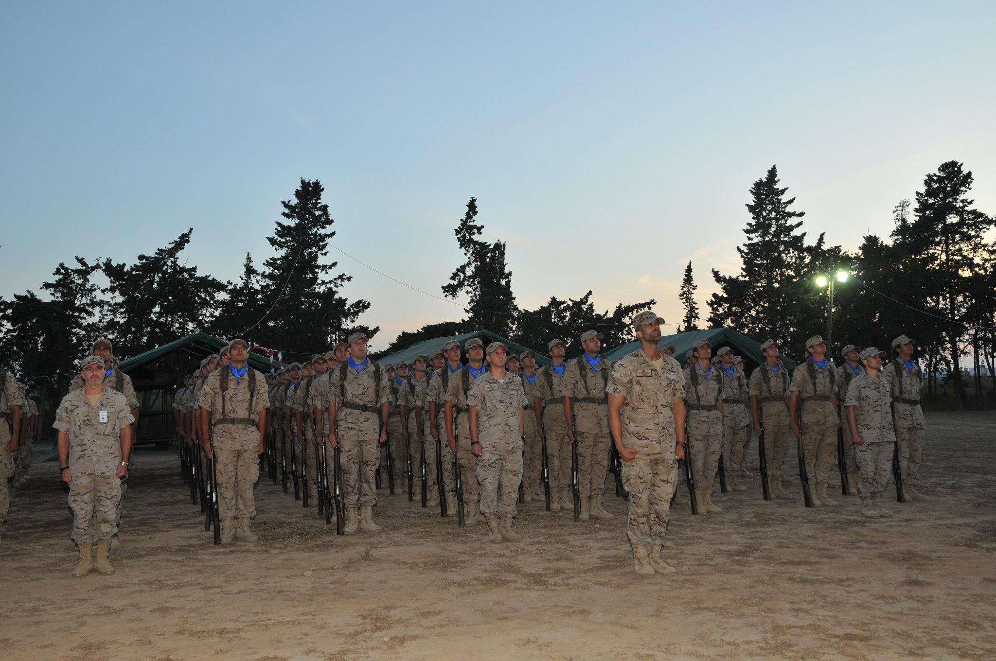 Los alumnos de nuevo ingreso finalizan su fase de formación militar básica en la AGA