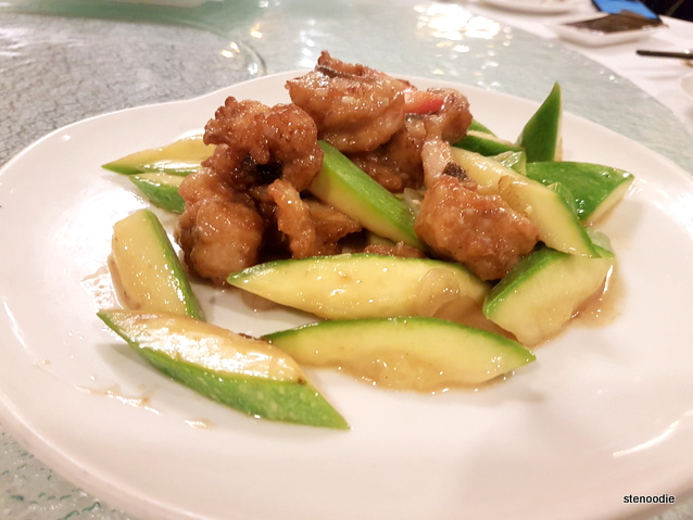 Stir-fried Eel Fillets with Assorted Bell Peppers