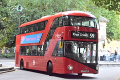 AL LT740 @ London Euston bus station