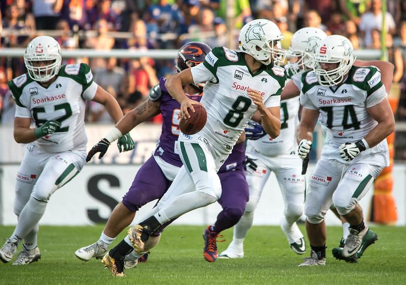 #8 Marco Ehrenfried, Quarterback - Schwäbisch Hall Unicorns