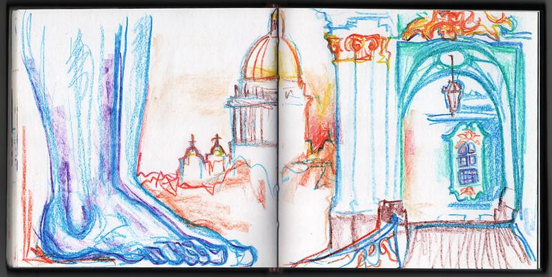 Hermitage Portico with Atlantes