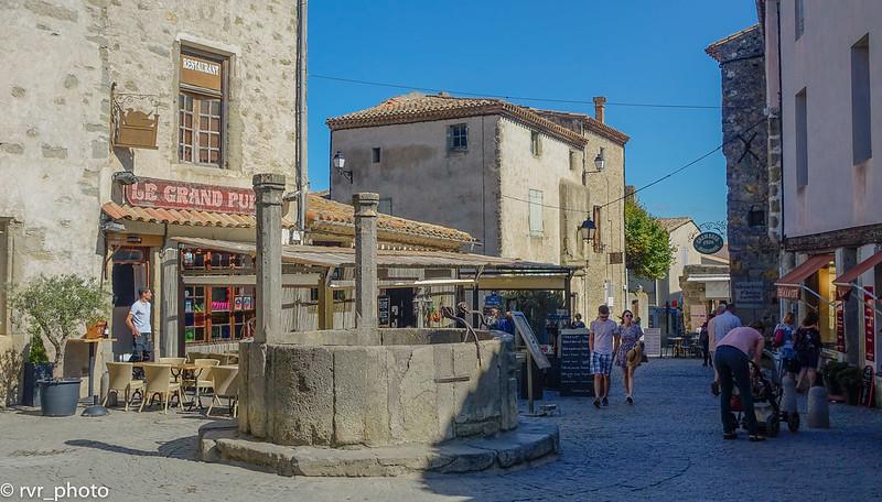 Place du Grand Puits, Carcassonne, Francia