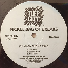 DJ MARK THE 45 KING:TUFF CITY SQUAD:NICKEL BAG OF BREAKS(LABEL SIDE-A)