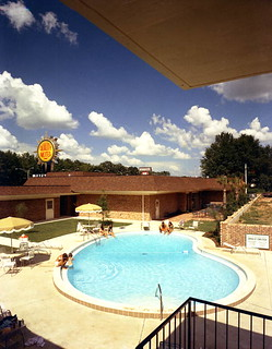 Swimming pool at the Quality Motel in Tallahassee