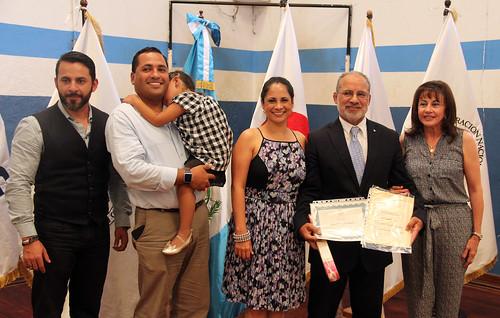 Entrega séptimo Dan al ex judoca Fernando Cáceres