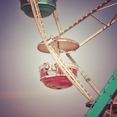 It was a good day... #countyfair #carnivalride #summertime #friends #ferriswheel