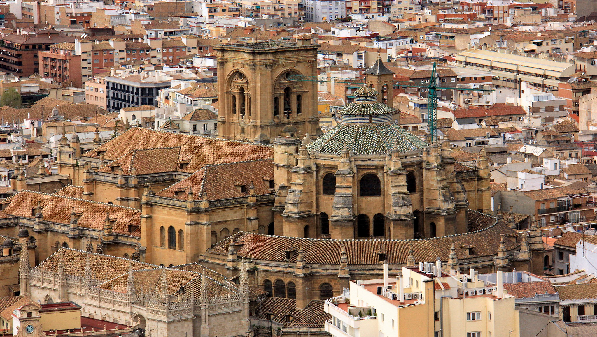 Granada from a bird's eye view