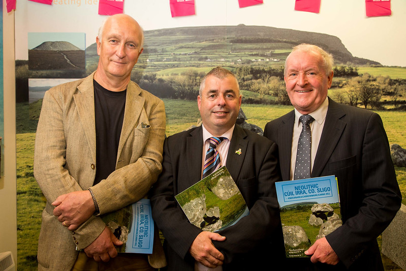 Minister Moran launches Archaeology Ireland's Heritage Guide 'Neolithic Cúil Irra: Knocknarea – Carrowmore – Carns Hill'