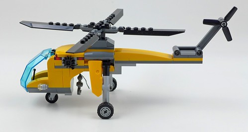LEGO City Jungle 60158 Jungle Cargo Helicopter 42