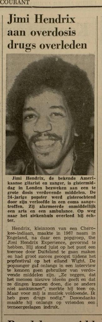 LEEUWARDER COURANT (NETHERLANDS) SEPTEMBER 19, 1970