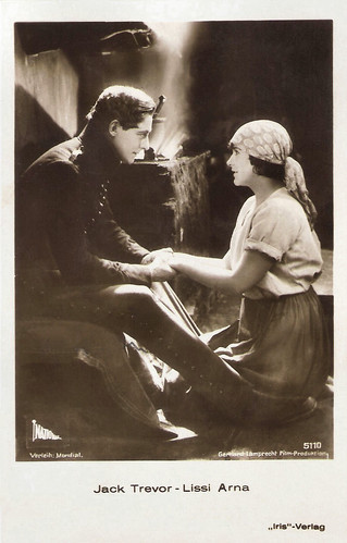 Jack Trevor and Lissi Arna in Der Katzensteg (1927)