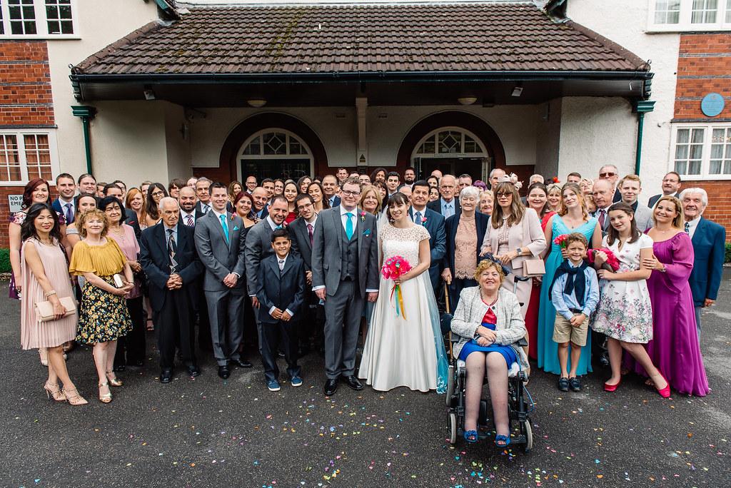 wedding day - everyone