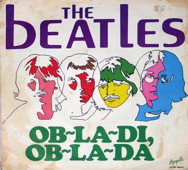 Beatles Ob-La-Di Pb-La-Da