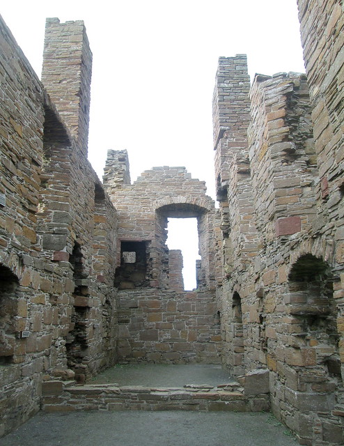Earl's Palace, Birsay, Orkney, Interior 3