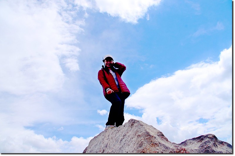 Mount Evans山頂(4,348 m) 4