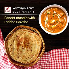 Paneer masala with Lachha Paratha