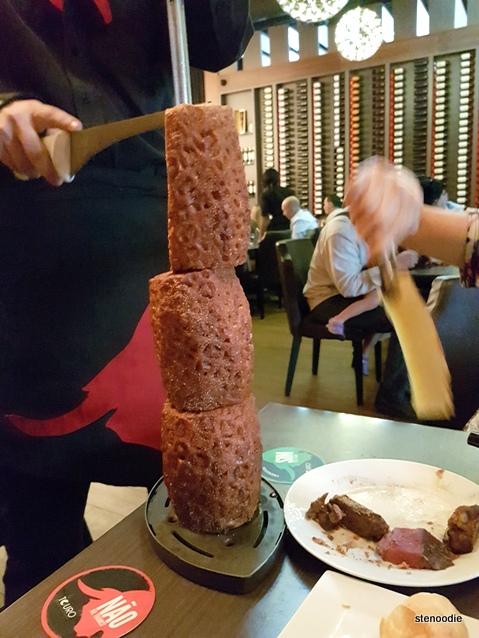 Touro Brazilian Steakhouse grilled pineapple