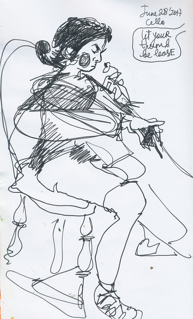 Sketchbook #106: Cello