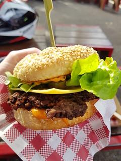 Vurger at Brisbane Vegan Markets