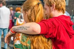 Dutch Redhead Days Breda 2017 - Roodharigendagen Breda 2017