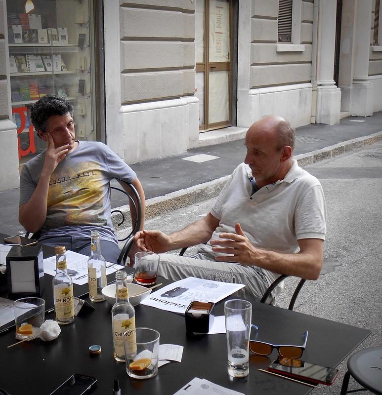 Renato Manara e Paolo Angiolini