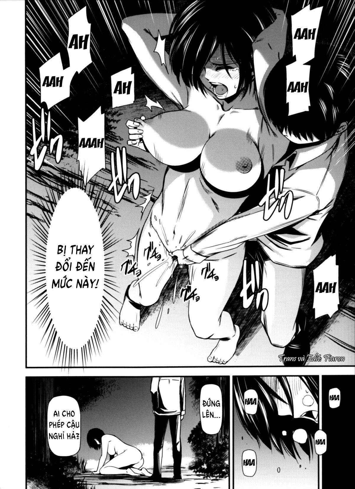 HentaiVN.net - Ảnh 19 - Gekishin (Attack on Titan) - Firing Pin - Gekishin Yon