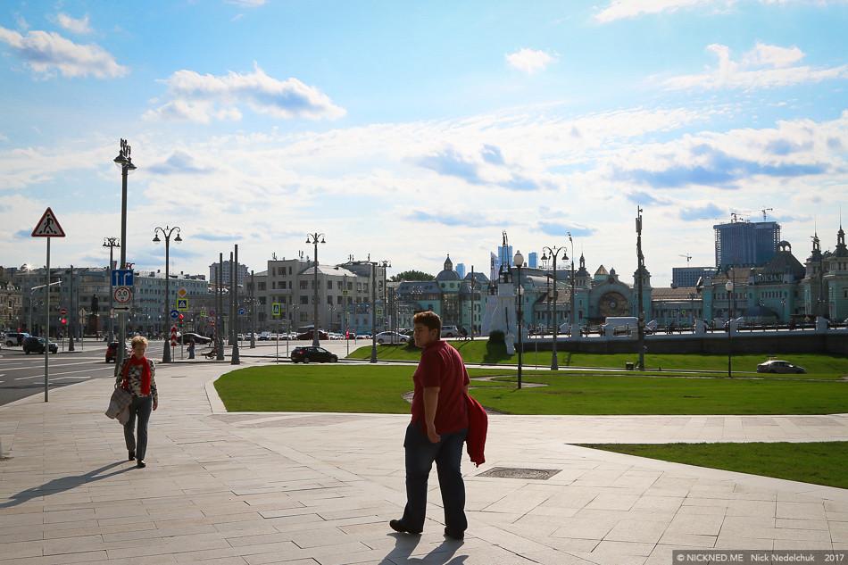 Площадь у Белорусского вокзала просто не узнать! IMG_4284