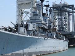 USS Salem (CA-139) Des Moines Class Heavy Cruiser Quincy Massachusetts