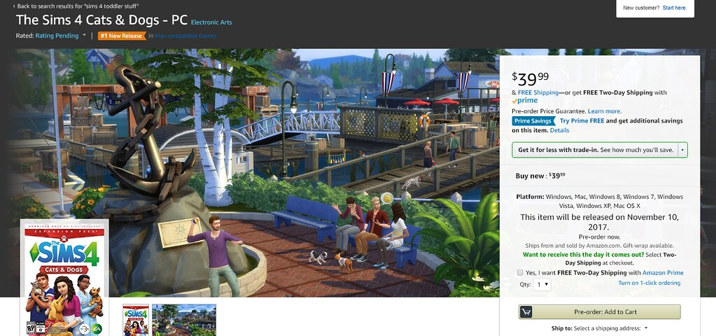Pre-Order The Sims 4 Cats & Dogs on Microsoft and ...
