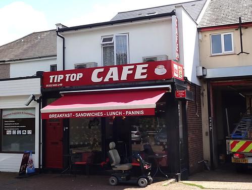 Tip Top Cafe, Swanley, Kent BR8