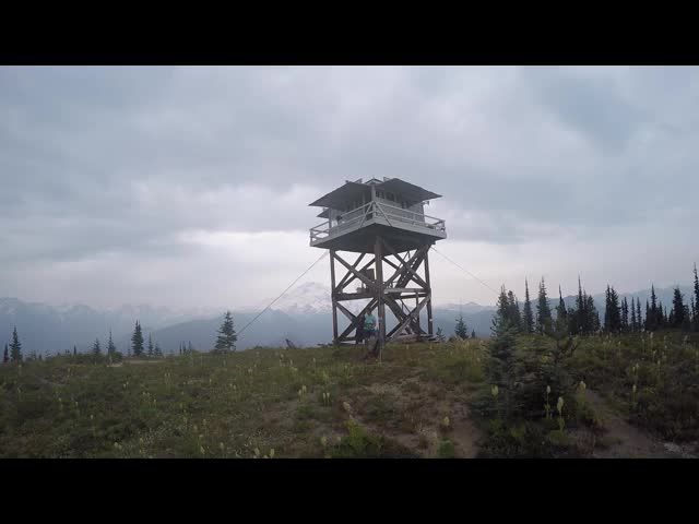 2575 GoPro video panorama of the Miners Ridge Lookout Tower