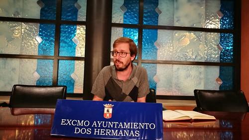 Francisco Toscano Rodero, delegado de Deportes, rueda de prensa balance temporada de piscina