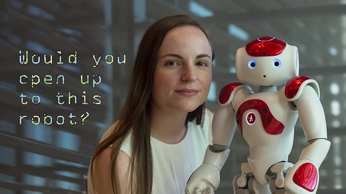 VIDEO: Study measures human-robot connections