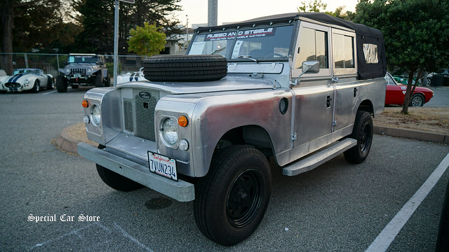 1967 Land Rover 109 Phantom Convertible