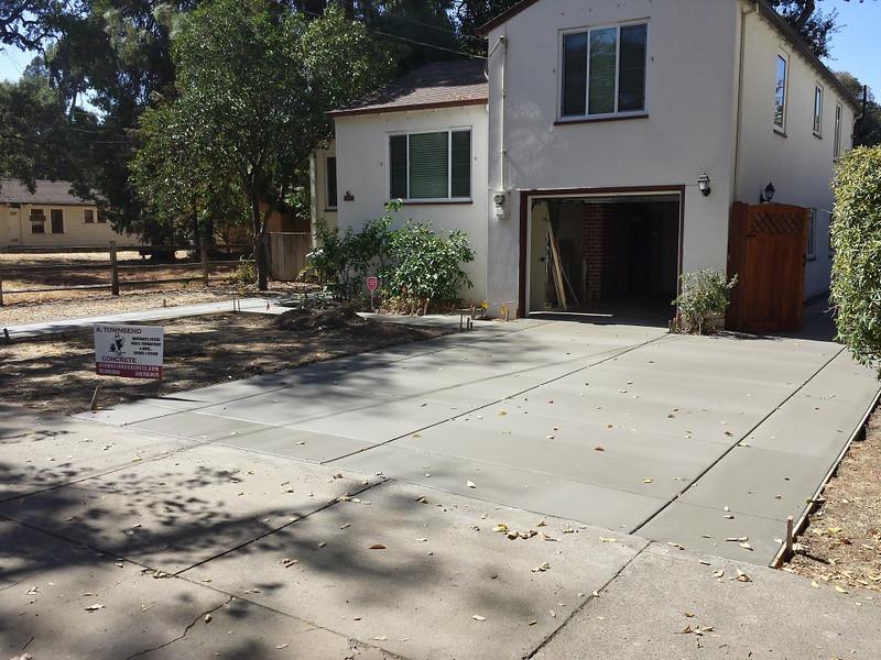 Concrete Driveway Replaced In Davis