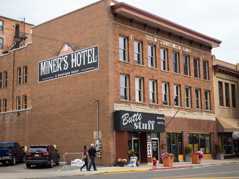 Miner's Hotel in Butte, Montana