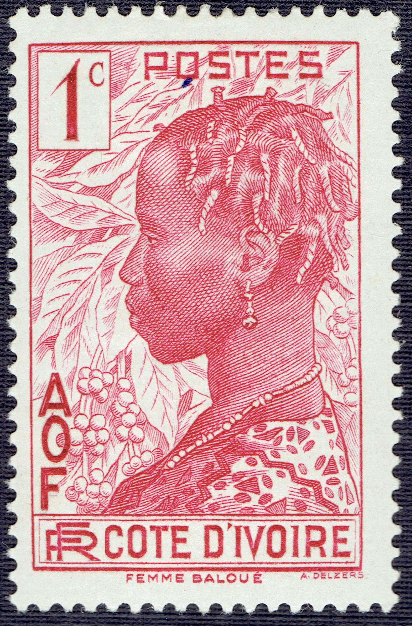 Ivory Coast #112 (1936)