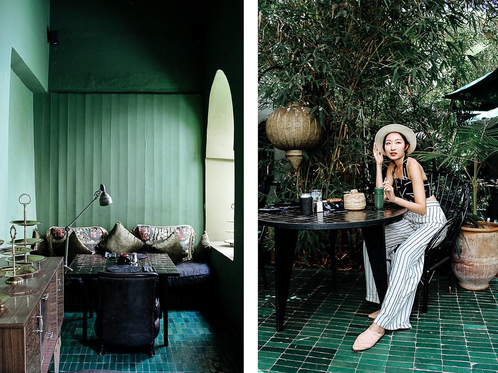 Le jardin marrakech kissesvera