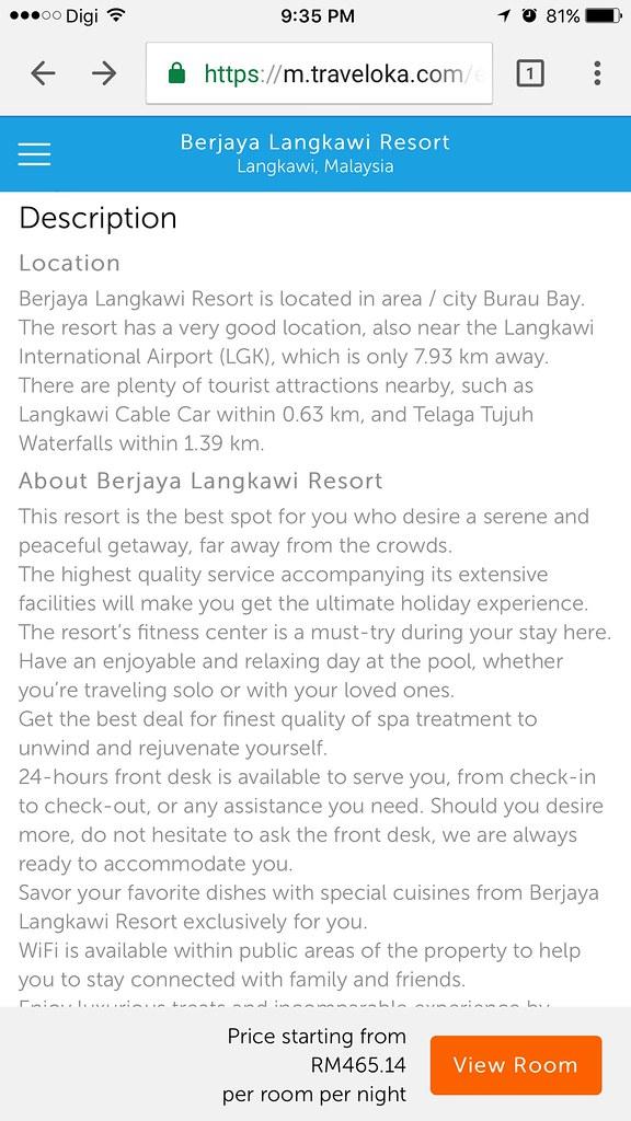 Berjaya Langkawi Resort on Traveloka