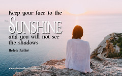 Finding Sunshine...and Gratitude in Our Lives