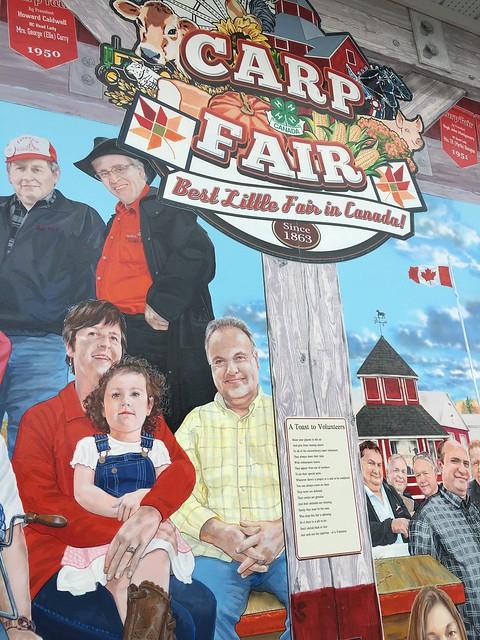Mural at Carp Fair Grounds