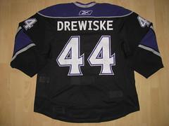 #44 Davis  DREWISKE Game Worn Jersey