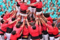 Diada Castellera del 29 d'agost a Vilafranca del Penedès #FMVila17
