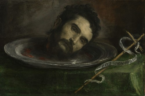 Head of John the Baptist  fromthe Cleveland Museum of Art