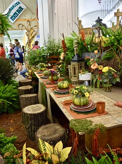 Horticulture fall table setting at the Minnesota State Fair | by Tatiana12