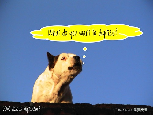 What do you want to digitize? = ¿Qué deseas digitalizar? #roofdog
