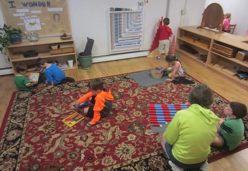 math, sensorial, & science work