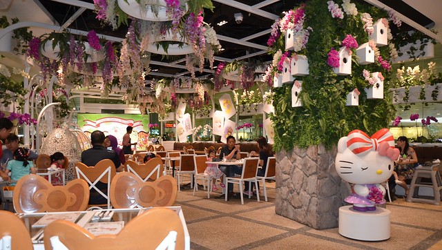 Hello Kitty Orchid Gardens Restaurant