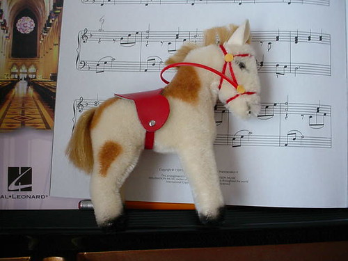 Steiff pony