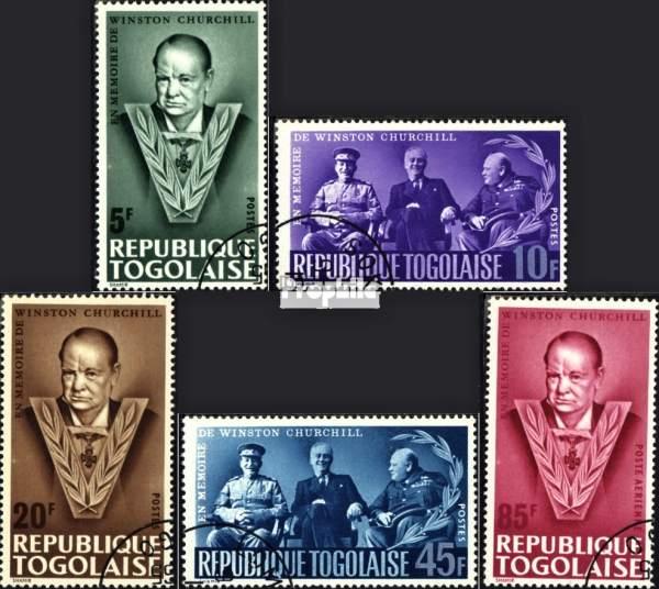 Známky Togo 1965 Winston Churchill